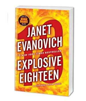 Explosive Eighteen Book Cover