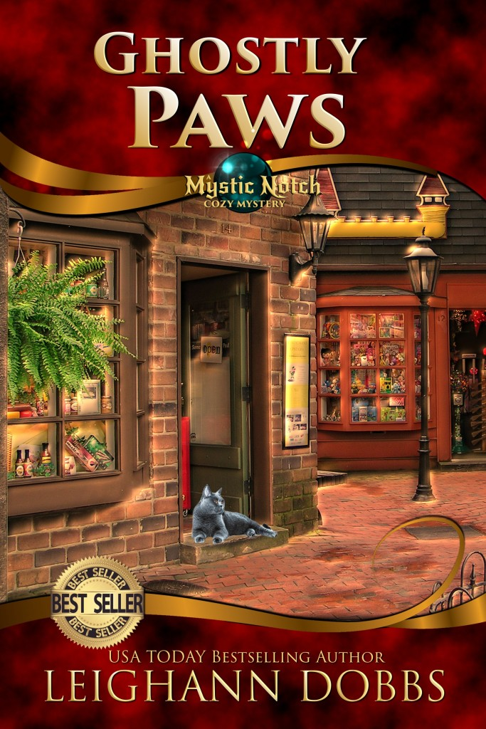 Ghostly Paws Book Cover